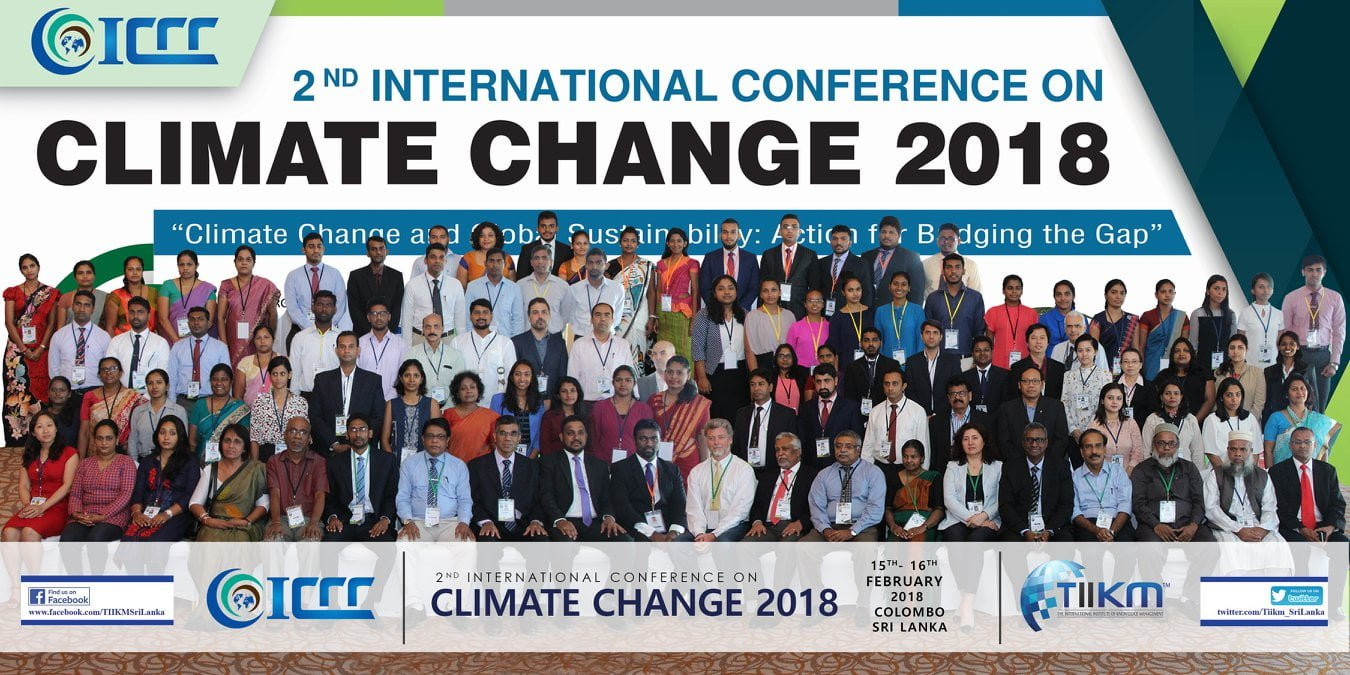 ICCC-2018 - International Conference on Climate Change 2020