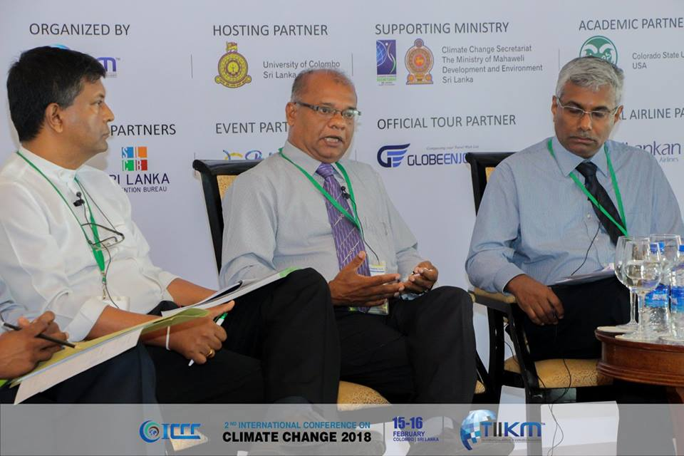 International Conference on Climate Change Panel discussion