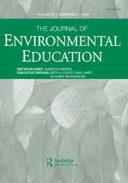 the journal of environmental education