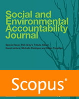 Social and Environmental Accountability Journal- ICCC 2022